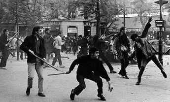Paris Riots 1968