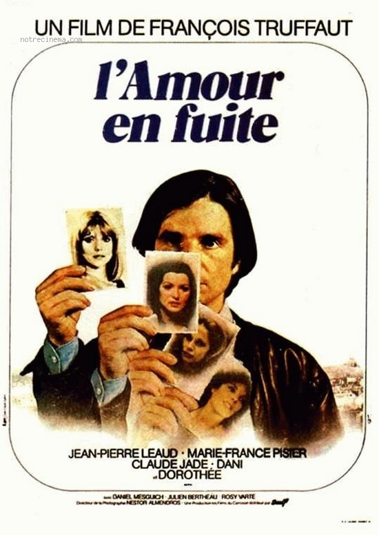 LOVE ON THE RUN (L\'Amour en fuite) - Francois Truffaut