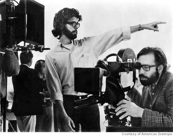 Francis Ford Coppola and George Lucas