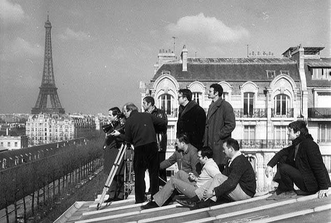 Truffaut & crew on location!